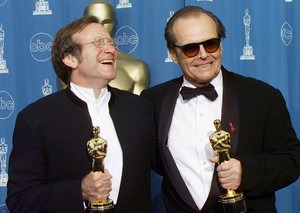 Robin Williams and Jack Nicholson (1998)