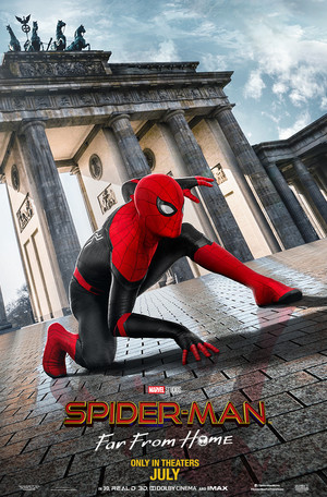 Spider-Man: Far From home pagina posters (2019)