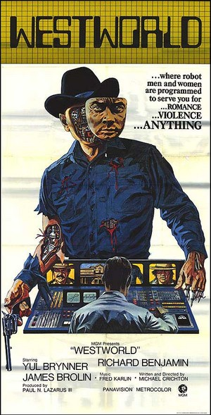 WESTWORLD vintage movie poster