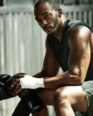 Anthony Mackie photographed by Ture Lillegraven for Men's Health (2019)