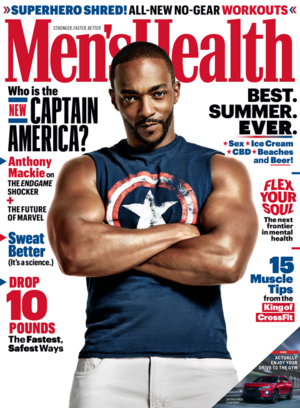 Anthony Mackie photographed bởi Ture Lillegraven for Men's Health (2019)