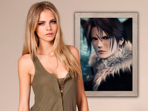 CARA D. LOVE BUT HATE FAKE FANS Squall Leonhart