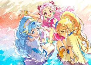 Cure Ange, Cure Yell and Cure Etoile