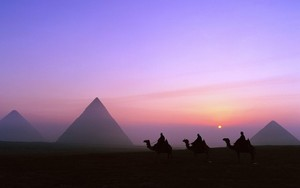 GIZA EGYPT MORNING