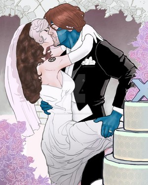 Gambit&Rogue wedding
