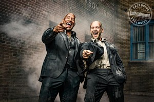 Hobbs and Shaw - Entertainment Weekly Photoshoot - 2019 - Dwayne Johnson and Jason Statham