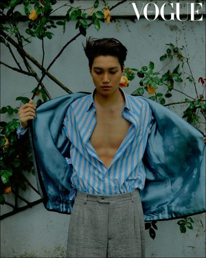 Kai for Vogue Korea July 2019 Issue