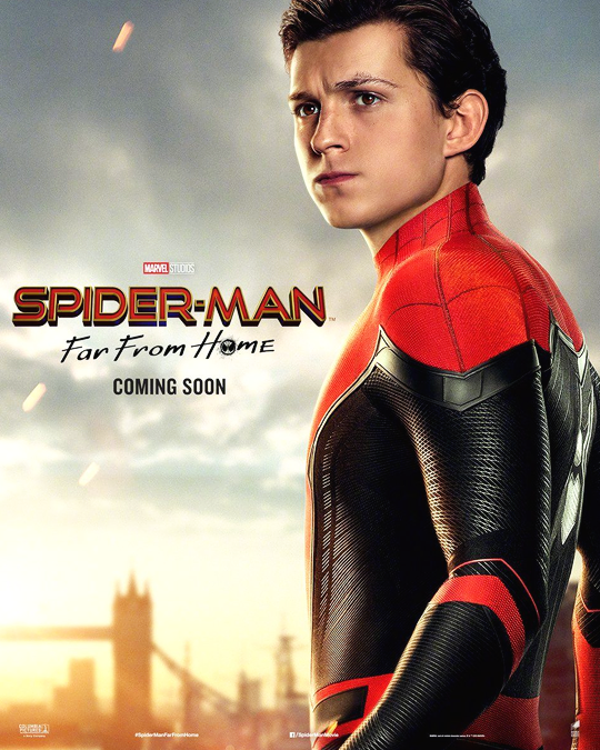 Peter Parker ~Spider-Man: Far From Home (2019) | Character Posters