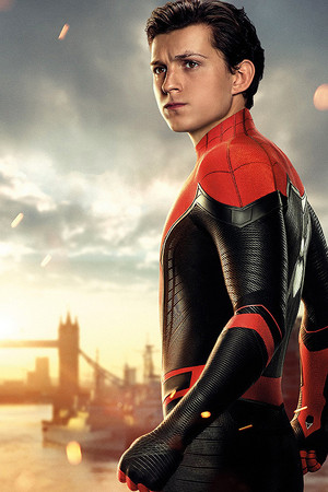Peter Parker -Spider Man: Far from প্রথমপাতা (2019) Textless Character Posters