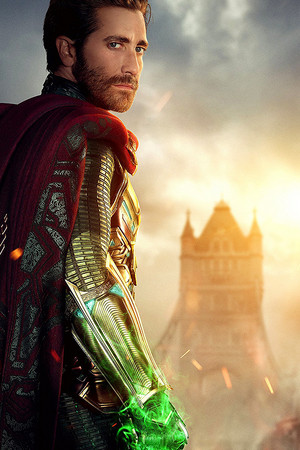 Quentin Beck/Mysterio -Spider Man: Far from home (2019) Textless Character Posters