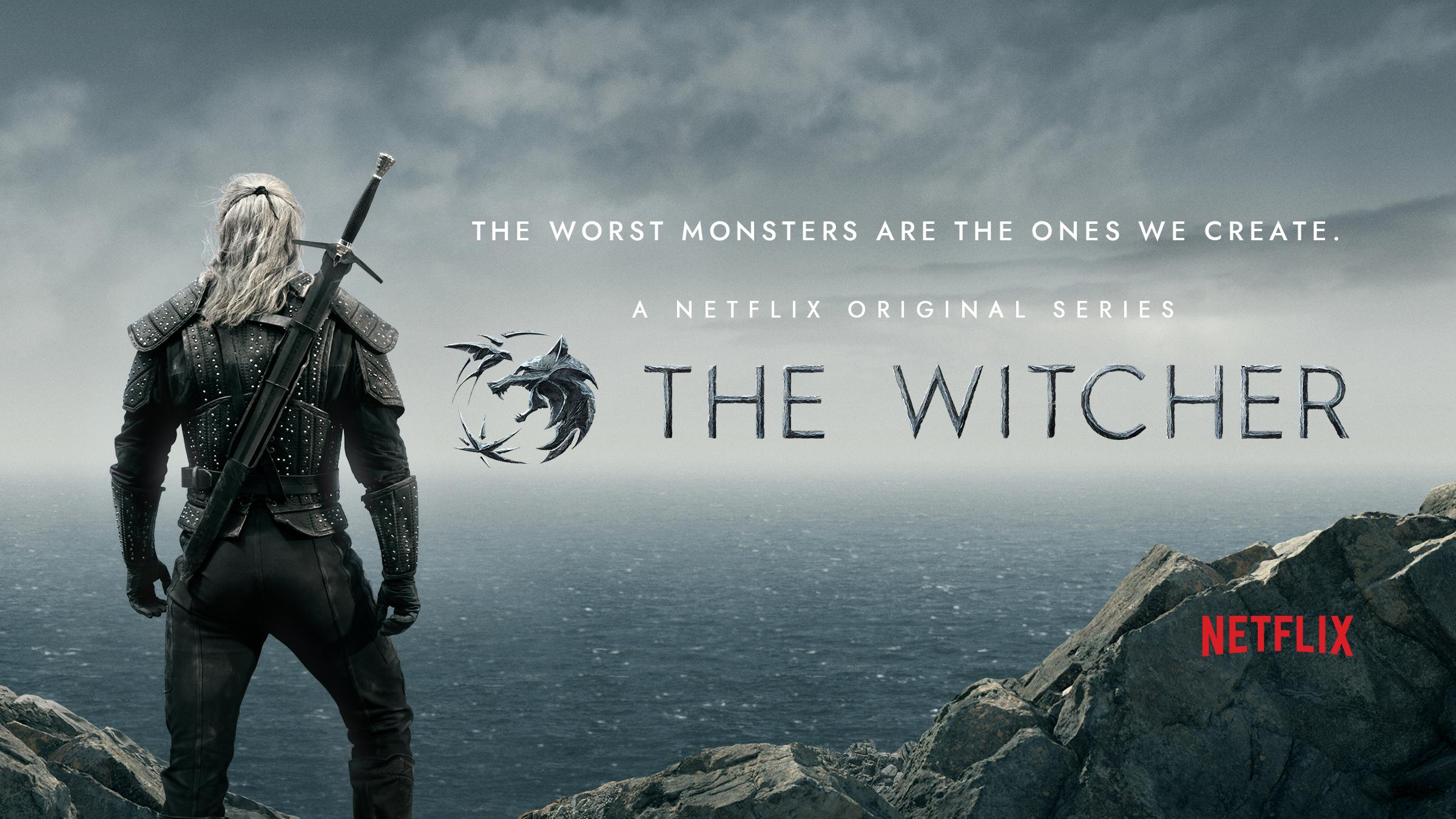 Image result for the witcher poster