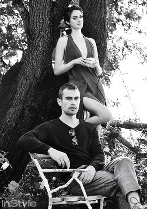 Theo James and Shailene Woodley - InStyle Photoshoot - 2015
