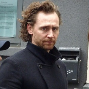 Tom Hiddleston at the stage door of Harold Pinter Theatre after performing Betrayal on May 21, 2019