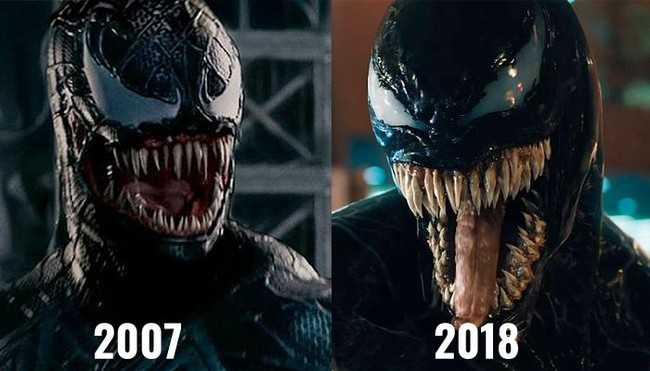Toper Grace Venom and Tom Hardy Venom!
