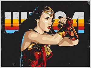 Wonder Woman 1984 - Created kwa Devin Doty