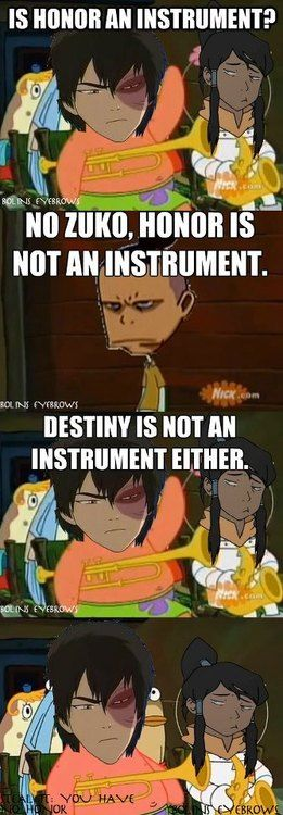 Zuko's Honor Meme