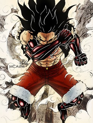 *Luffy Gear Fourth : Snake Man*