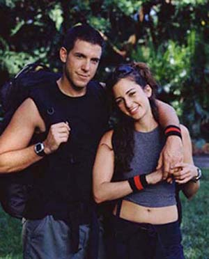 Aaron Goldschmidt and Arianne Udel (The Amazing Race 3)