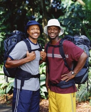 Andre Plummer and Damon Wafer (The Amazing Race 3)