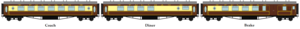 British Pullman Coaches