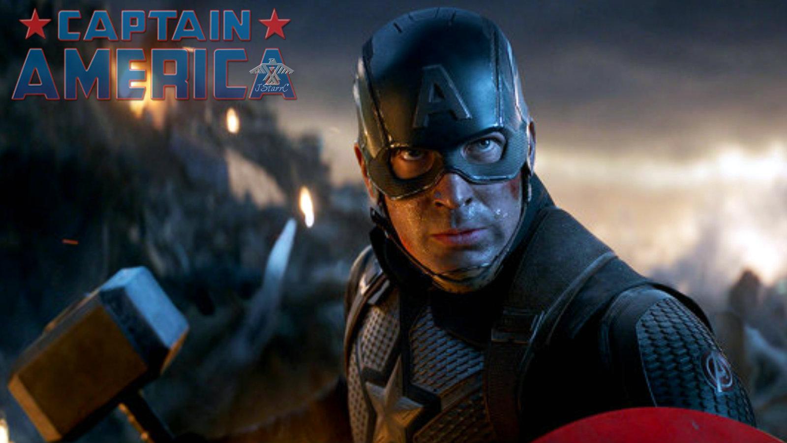 Captain America In Avengers Endgame 2019 Avengers Infinity