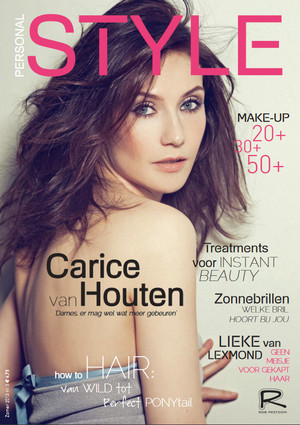 Carice van Houten - Personal Style Cover - 2013