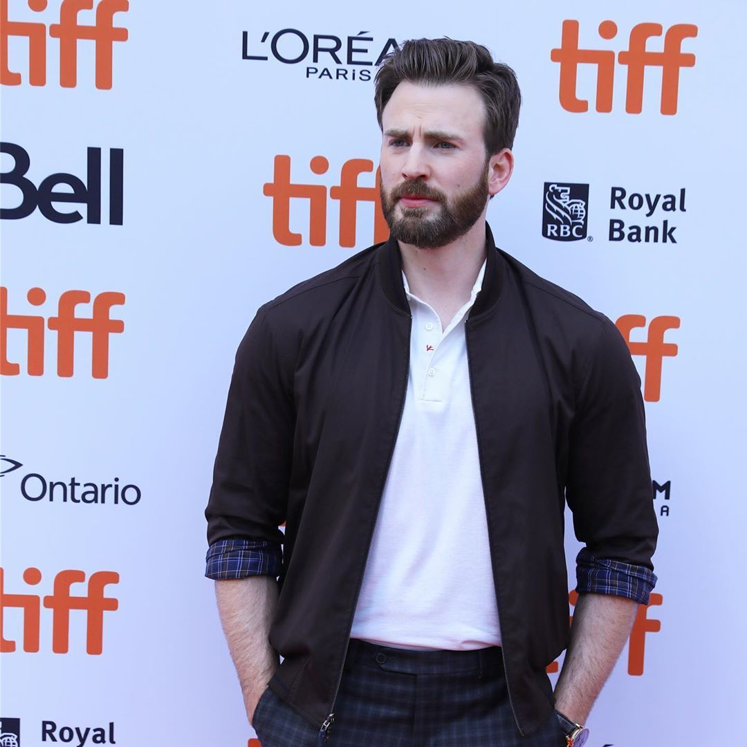 Chris at the Knives Out Premiere, 2019 Toronto International Film Festival (September 07, 2019)