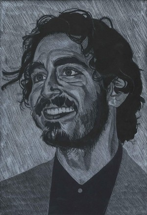 Dev Patel drawing
