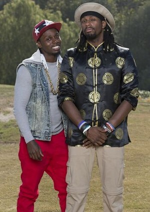 "Ernest Phillips and Jayjion ""Jin"" Greer (The Amazing Race 27)"