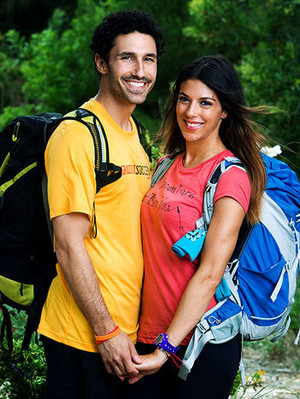 Ethan Zohn and Jenna Morasca (The Amazing Race 19)