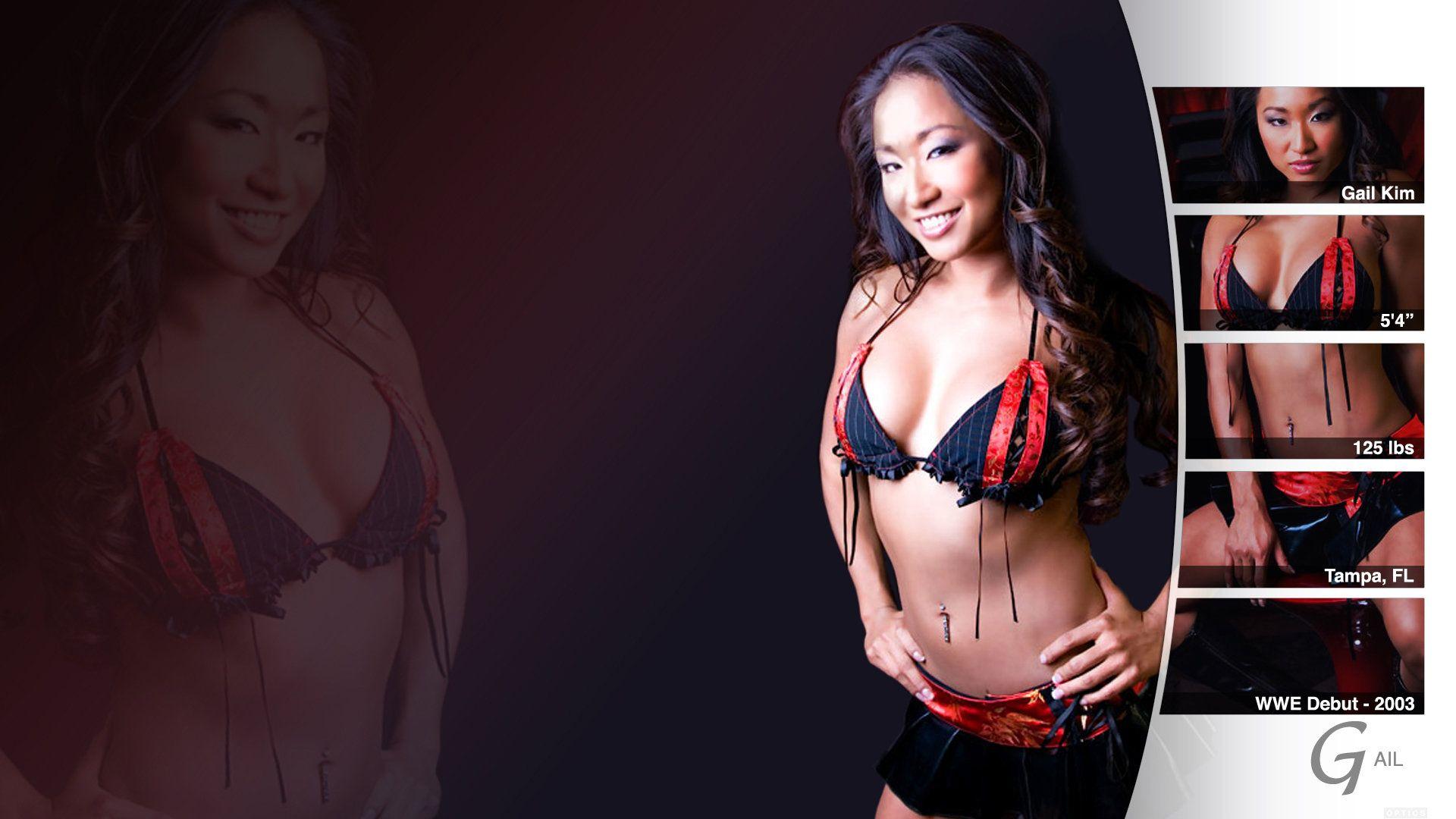Gail Kim Hot Images gail kim - hot & sexy - gail kim wallpaper (42976511) - fanpop