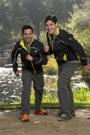 Harley Rodriguez and Jonathan Knight (The Amazing Race 26)