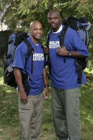 "Herbert ""Flight Time"" Land and Nathaniel ""Big Easy"" Lofton (The Amazing Race 15)"