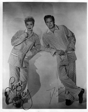 I Love Lucy autograph