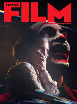 Joaquin Phoenix as The Joker on the cover of Total Film Magazine