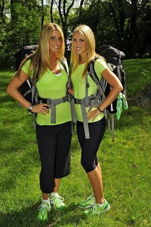 Katie Seamon and Rachel Johnston (The Amazing Race 17)