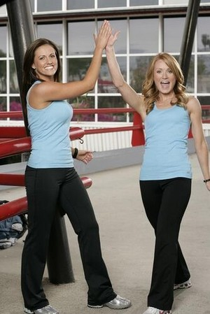 Kelly Crabb and Christy Cook (The Amazing Race 13)