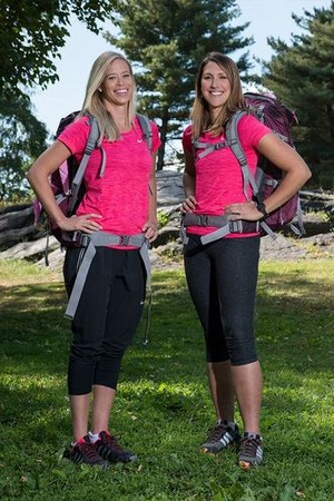 "Kristi Leskinen and Jennifer ""Jen"" Hudak (The Amazing Race 30)"