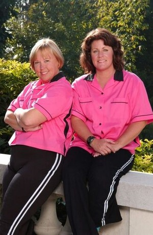 Linda Ruiz and Karen Heins (The Amazing Race 5)