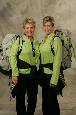 Lisa Hinds and Joni Glaze (The Amazing Race 9)