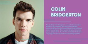 Luke Newton cast as Colin Bridgerton