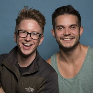 "Matthew ""Tyler"" Oakley and Korey Kuhl (The Amazing Race 28)"