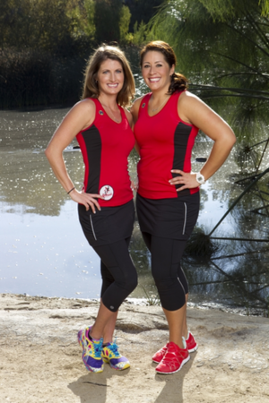"Mona Hinman-Egender and Elizabeth ""Beth"" Bandimere (The Amazing Race 22)"