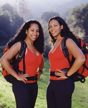 Monica Ambrose and Sheree Buchanan (The Amazing Race 4)