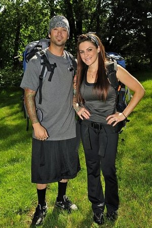 "Nick DeCarlo and Victoria ""Vicki"" Casciola (The Amazing Race 17)"