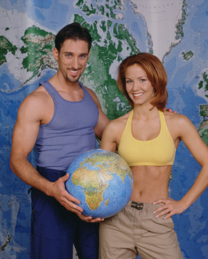 Paul Alessi and Amie Barsky (The Amazing Race 1)