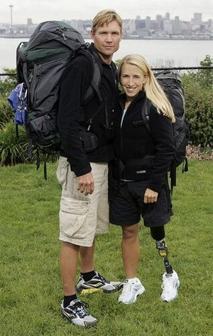 Peter Harsch and Sarah Reinertsen (The Amazing Race 10)