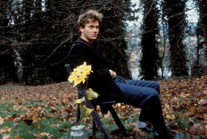 River Phoenix behind the scenes of My Own Private Idaho