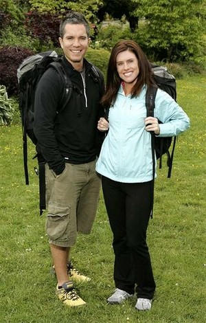 Rob Diaz and Kimberly Chabolla (The Amazing Race 10)
