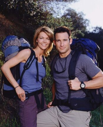 Russell Brown and Cindy Duck (The Amazing Race 4)